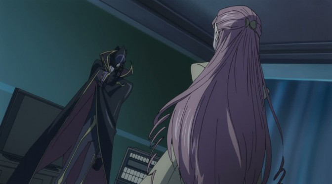She's joined the Black Knights! – Code Geass