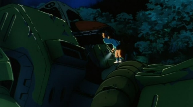 She's against fighting inside a colony! – Mobile Suit Gundam 0080: War in the Pocket
