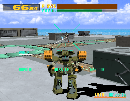 [Análise Retro Game] - Cyber Troopers Virtual-On - Sega Saturn/PC/PS2/PS3 Virtual-On-4