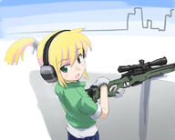 bipod character:Iris_(Material_Sniper) firearm:L96A1 scope series:Material_Sniper // 800x640 // 187.3KB
