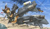Mechem fighter_jet firearm:NTW-20 scope sniper_rifle strike_witches vehicle:F-15 // 1300x764 // 364.5KB