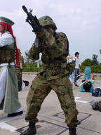 ALICE Howa Japan_Ground_Self-Defense_Force bipod cosplay firearm:Type_89 helmet photo // 750x1000 // 263.2KB