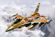fighter_jet series:Lucky_Star vehicle:F-16 // 1800x1200 // 185.9KB