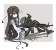 Fabrique_Nationale firearm:M249 frag_grenade series:Puella_Magi_Madoka_Magica // 1134x1003 // 530.0KB